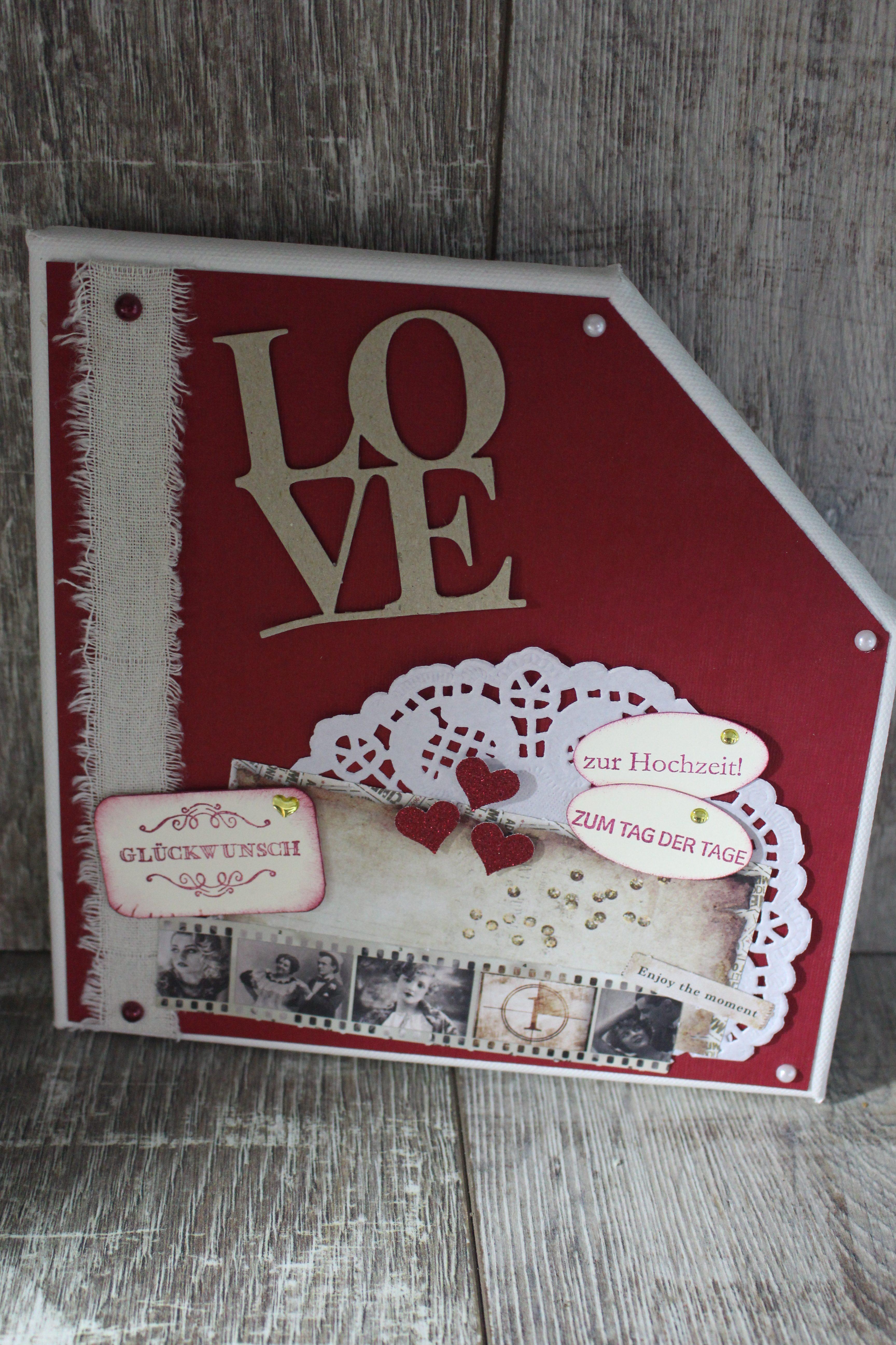 Leinwand Zur Hochzeit Luya Arts And Cards
