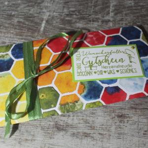 Karten und Verpackungen für Gutscheine oder Geldgeschenk