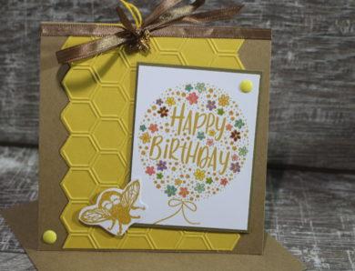 Bienenkarten für den guten Zweck