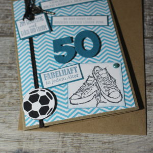 Geburtstagskarten zwischen 50 und 69
