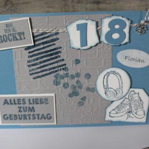 Geburtstagskarten zwischen 18 und 29