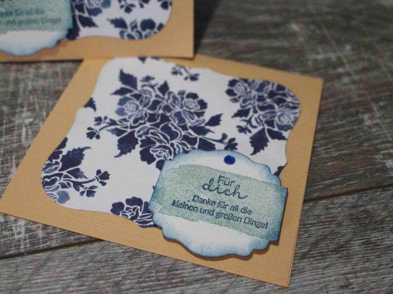 Minikarte plus Geschenk…
