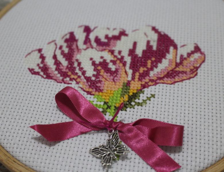Magnolienblüten als Geschenk