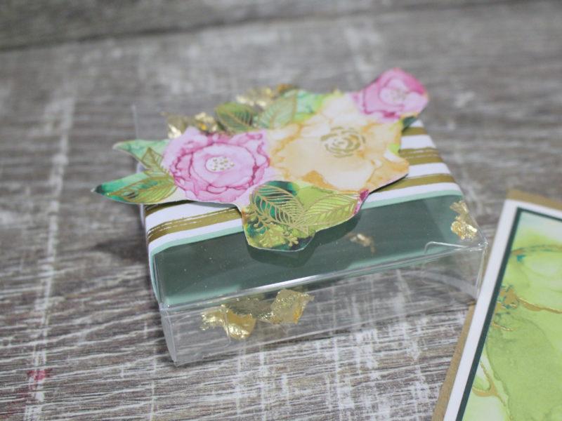 goldiges Blumen-Set