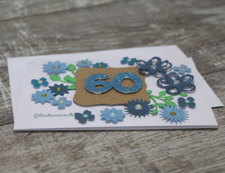 Blumenpracht zum 60. Geburtstag