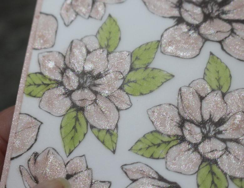 glitzernde Blüten