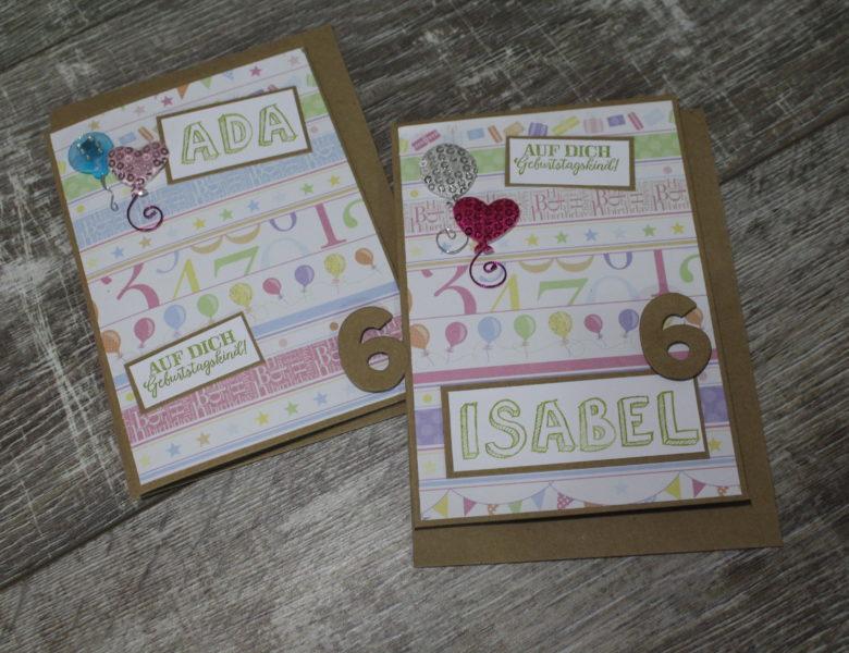 Happy Birthday Isabell und Ada…