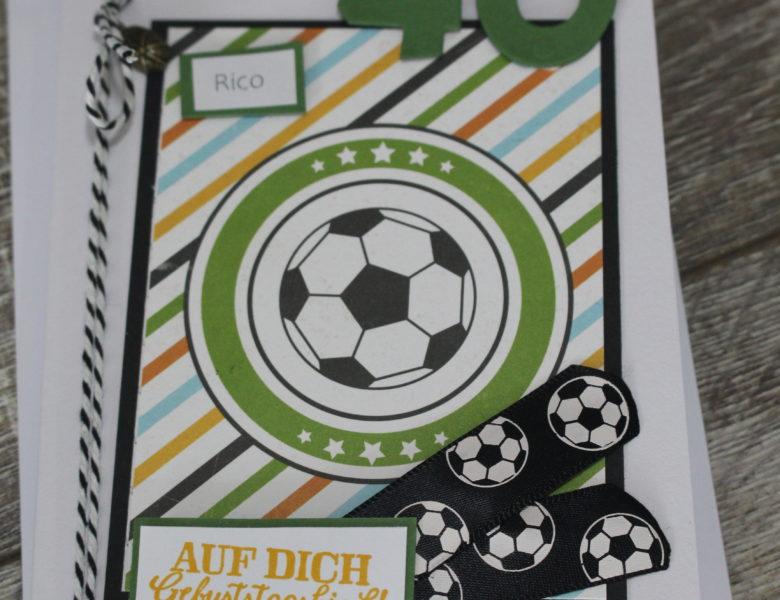 Fußballgruß zum 40.