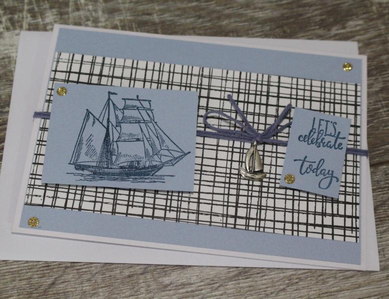 maritime Karte zum Geburtstag