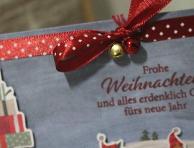 Weihnachtswichtel unterwegs