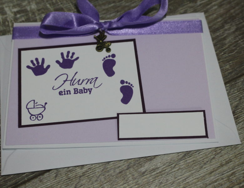 Karten zur Geburt